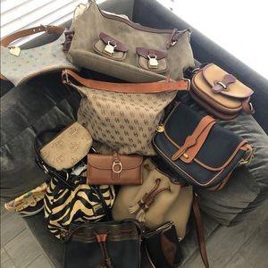 Lot of Dooney & Bourke bags